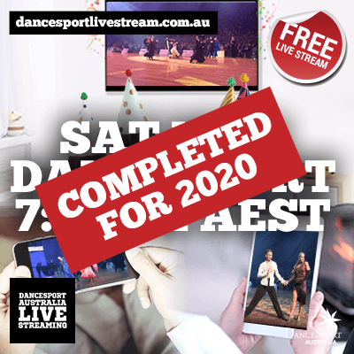Check out the Sat Nite DanceSport completed for 2020